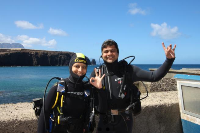 7 Mares Bautismo Buceo Canarias