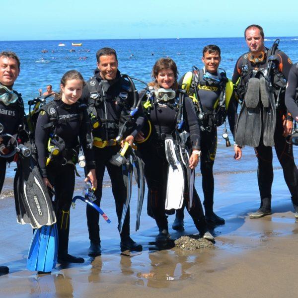 7 Mares curso PADI Open Water Diver
