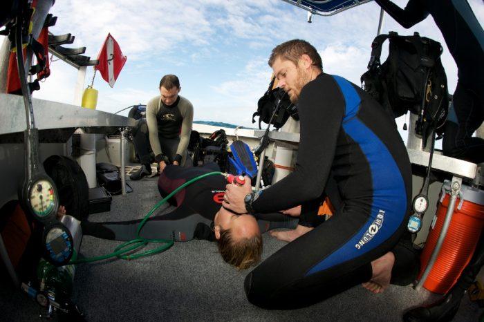 7 Mares curso de buceo PADI Rescue Diver