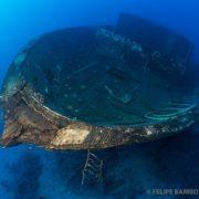 Barco hundido Mar Rojo 2 - Ultima frontera