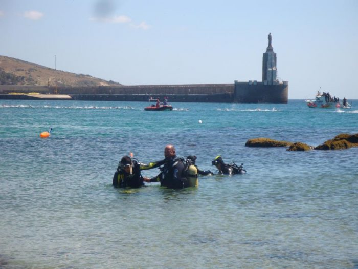 Bautismo de buceo Dive Center Barbate