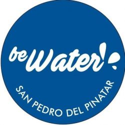 Be Water Buceo logo