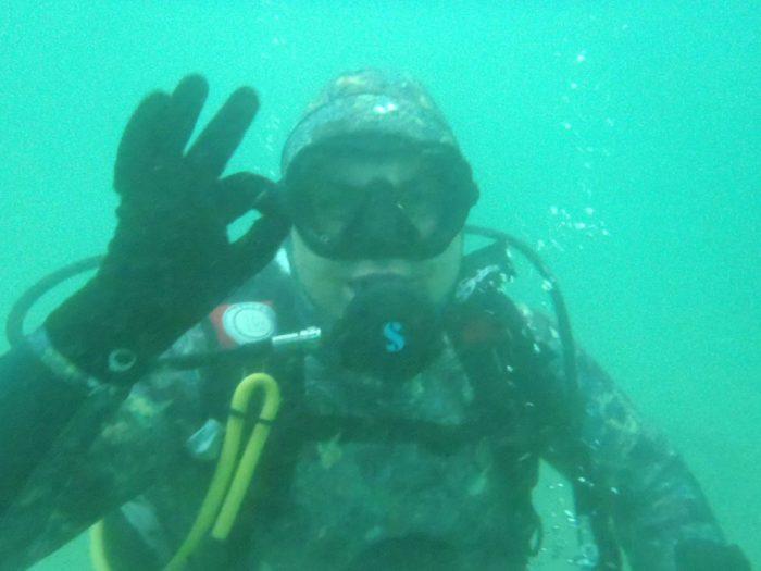 Buceador curso PADI en Galicia Mergullo Viveiro