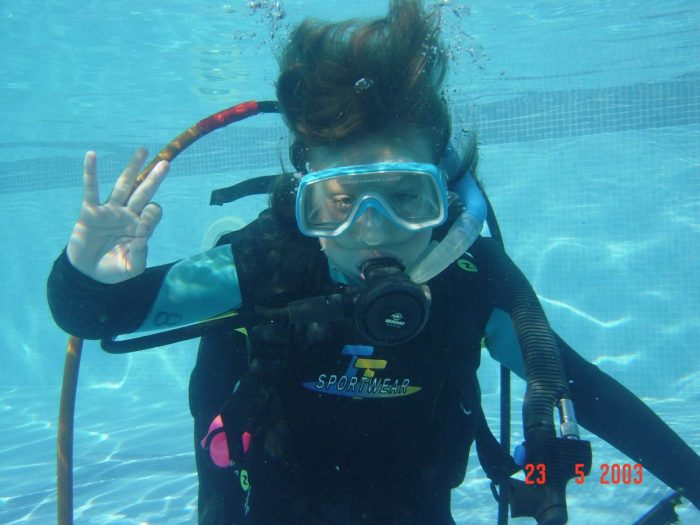 Buceo para niños Xaloc Diving Center