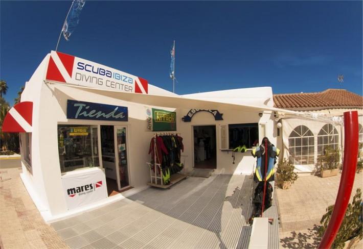 Centro de buceo Scuba Ibiza