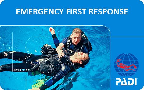 Curso PADI Emergency First Response (EFR) - Primeros auxilios