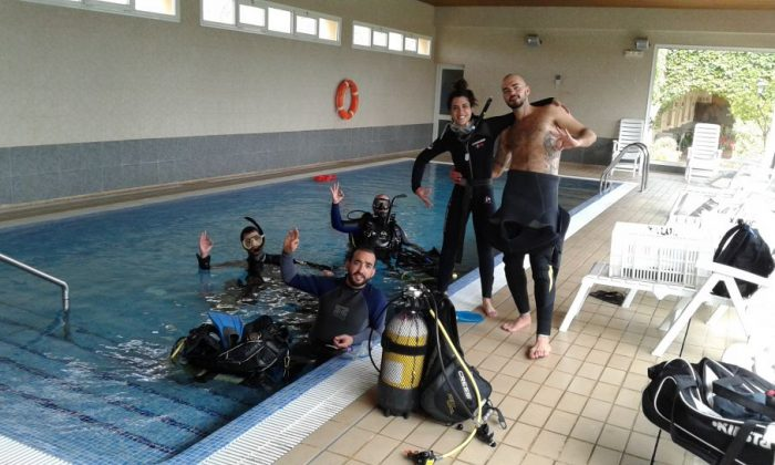 Curso buceo Open Water Xaloc Diving Center