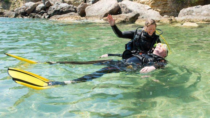 Curso buceo Rescue Diver PADI