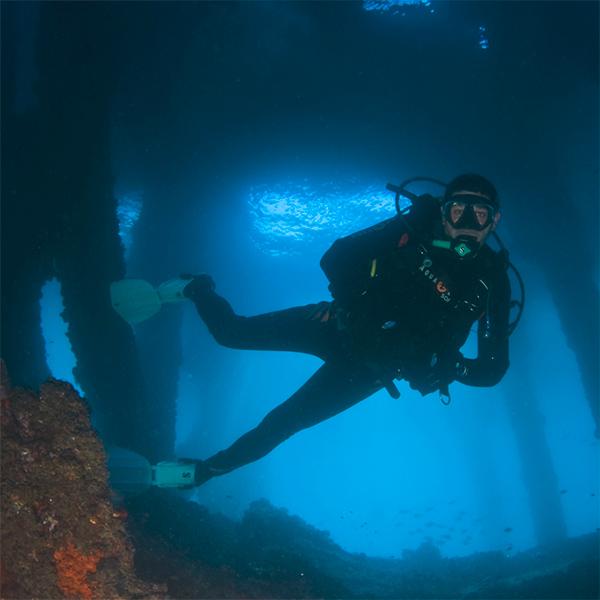 Curso buceo Rescue Diver PADI en Buceo Aguadulce