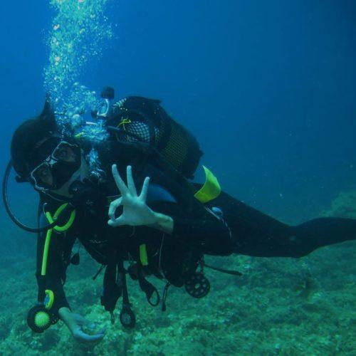Curso de buceo PADI Open Water en La Manga Cabo de Palos Mas Mar Buceo