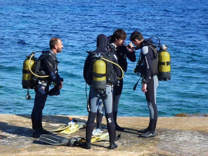 Cursos de buceo PADI Salgar Menorca