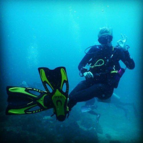 Dominio de la flotabilidad Be Water Buceo