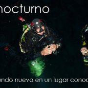 Especialidad Buceo Nocturno Isub San Jose