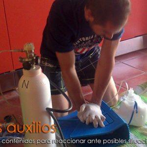 Especialidad EFR primeros auxilios Isub San Jose