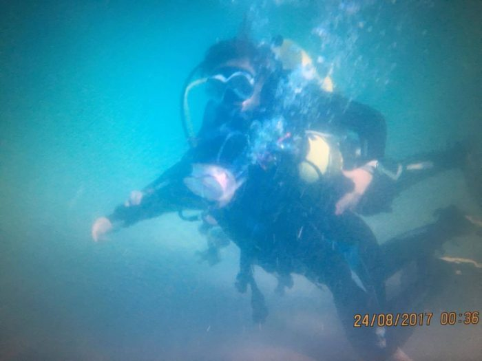 Inmersion de buceo Scuba Ares