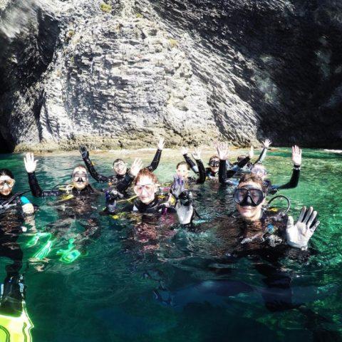Inmersiones de buceo en Murcia Be Water Buceo