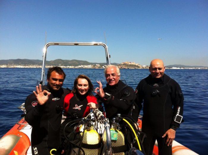 Inmersiones de buceo en Scuba Ibiza