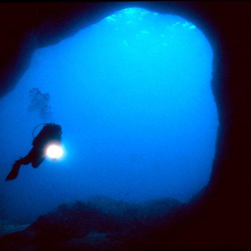 Inmersiones de buceo en cuevas Dive Paradis