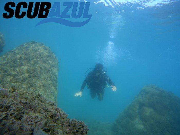Inmersiones de buceo y submarinismo en Malaga Scubazul Torremolinos