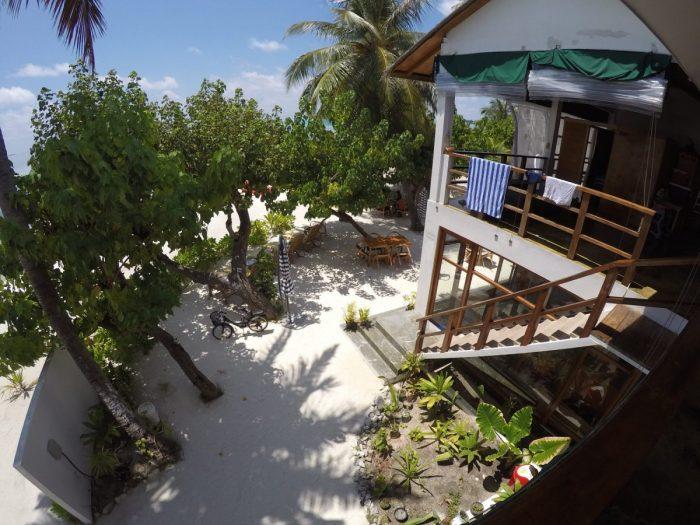 Patio Raakani Villas Guraidhoo Islas Maldivas