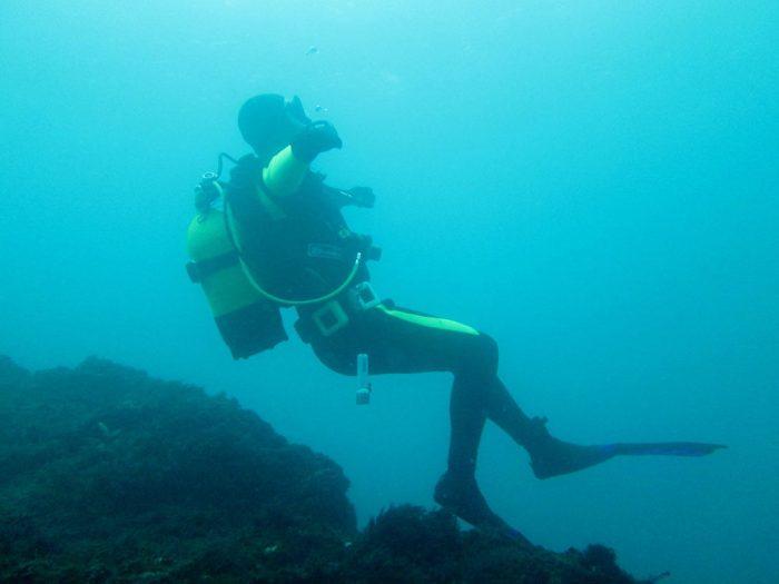 Submarinismo en Galicia Mergullo Viveiro