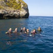 ZOEA inmersion de buceo PADI Open Water
