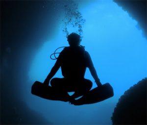 Yoga y buceo, en que se parecen?