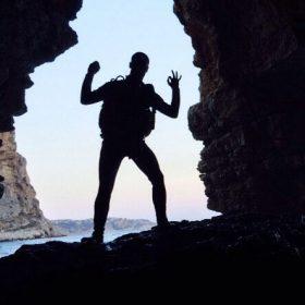 Diego - Cueva del Moraig en Calpe