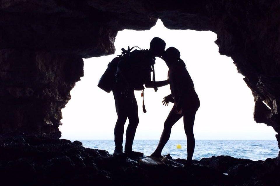 Diego - Inmersión Cueva del Moraig (Calpe)