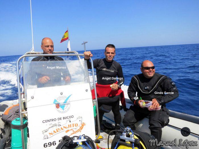 Buceo Naranjito - Barco para inmersiones